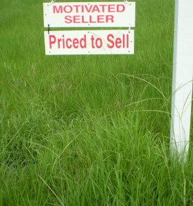 Motivated seller, priced to sell - what?